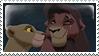 Kovu and Kiara stamp by PrinceKovu96