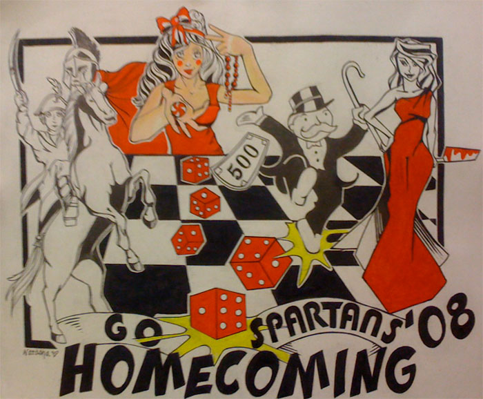 homecoming t shirt design 39 08 by misslucki13 on deviantart