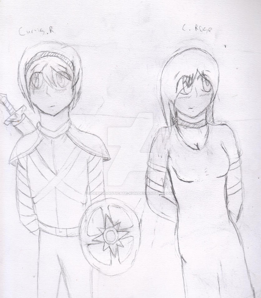 Curtis and Rose : First Draft by Dephlogisticate-Kun