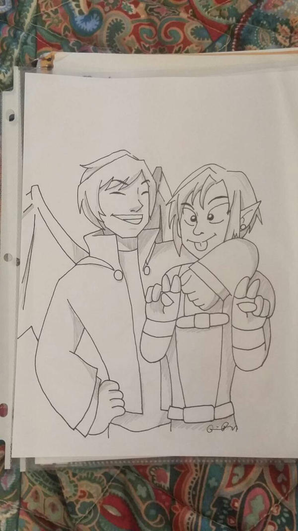 Alastor and Belial by Dephlogisticate-Kun