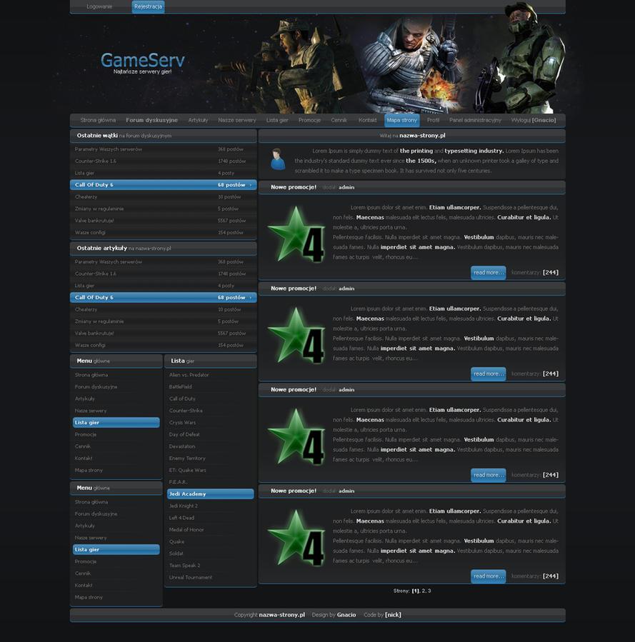 GameServ by Gnacio92