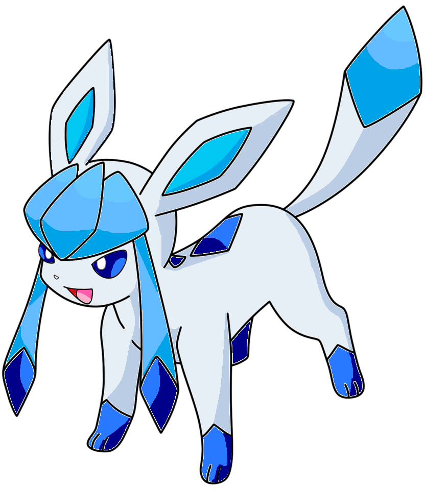 Generation IV Pokemon Coloring Pages Glaceon By IceColdGlaceon471 On DeviantArt