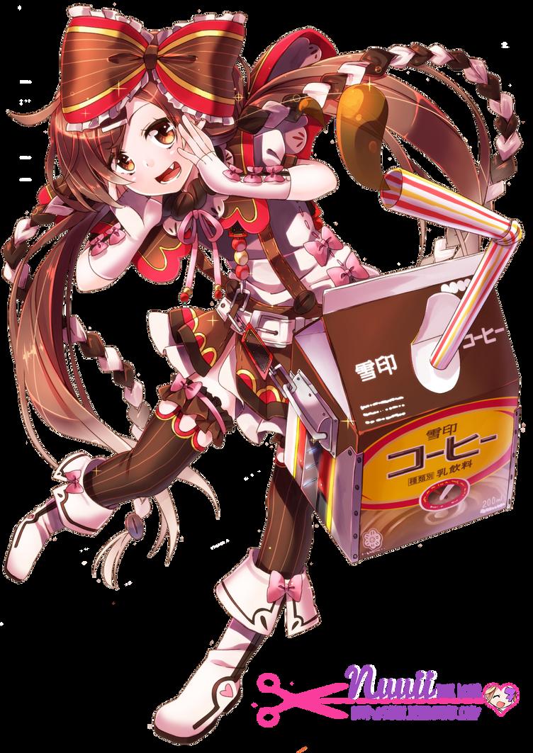 130 renders mangaaa Yukiko_tan__coffee____render__10_by_nuuii-d7mguek