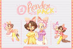 Render Pack #01 - PrettyFriends