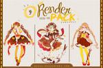 Render Pack #09 - Yukiko-Tan