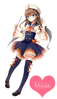 Render #59 - Anime Girl by Nuuii