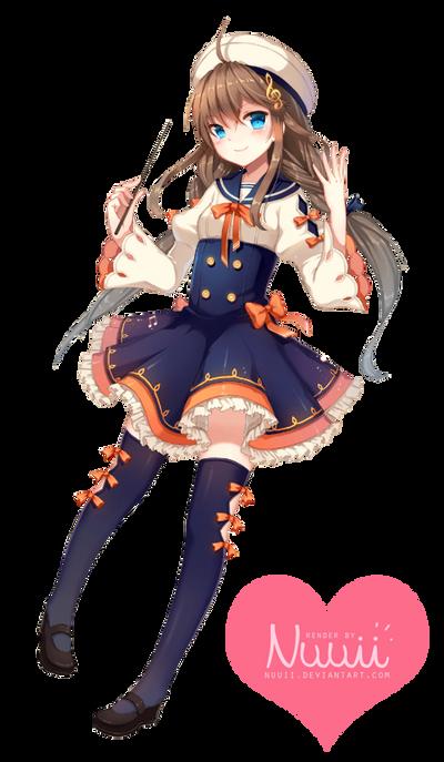 La Boîte Magique aux Rêves  Render__59___anime_girl_by_nuuii-d84y25w