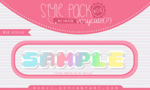 Style.Pack.#04 by Nuuii