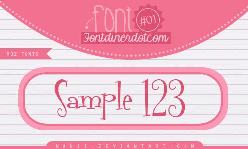 Font Fontdinerdotcom by Nuuii