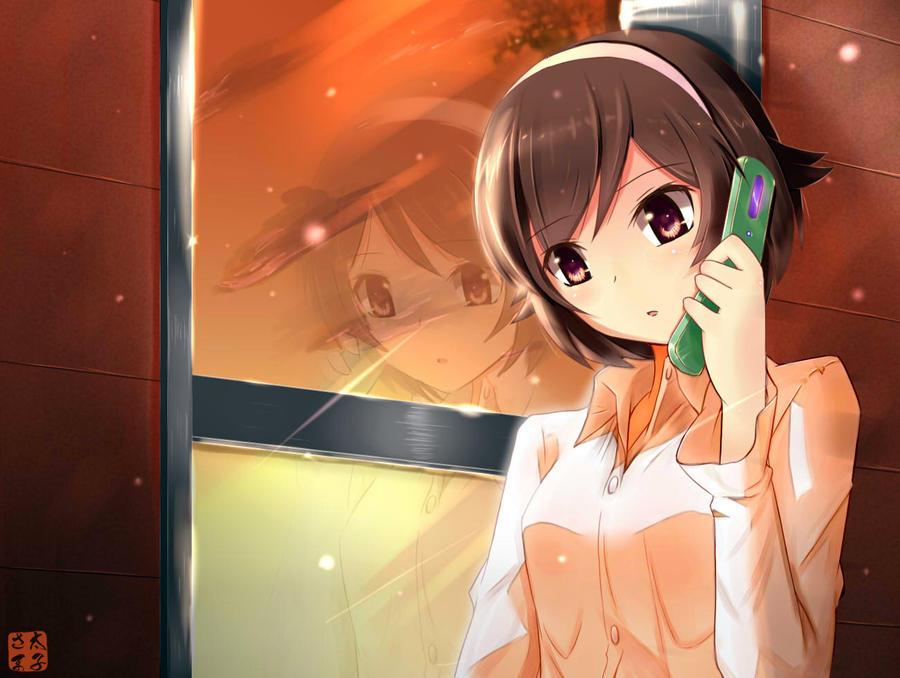 Image Result For Anime Girl Wallpaper Telephone