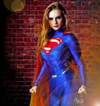 Emma Watson Woman of Steel by HeroesInYou
