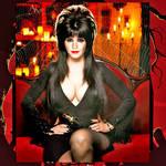 Emma Watson as Elvira, Mistress of the Dark by HeroesInYou