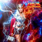 Natalie Portman Thor love and thunder by kpietersen