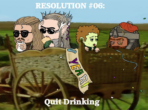 Resolution #06: Quit Drinking
