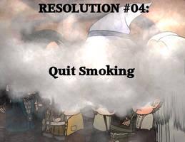 Resolution #04: Quit Smoking