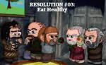 Resolution #03: Eat Healthy