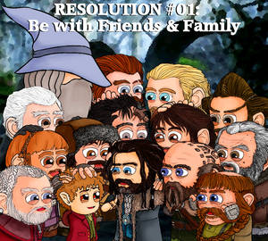 Resolution #01: Be With Friends and Family