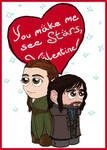 Valentine 2014: Tauriel and Kili