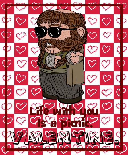 Valentine 2014: Bombur by Kumama