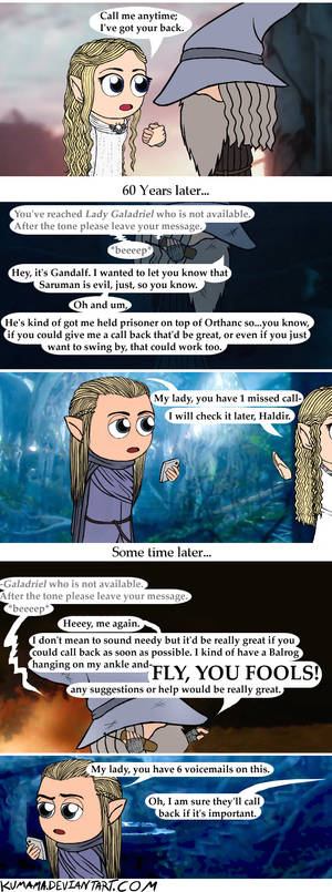 LOTR: Bad Connection
