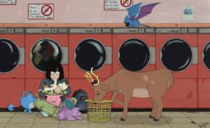 Pokemon: Laundromat