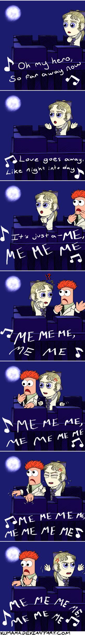 Comic: Me Me Me~ by Kumama