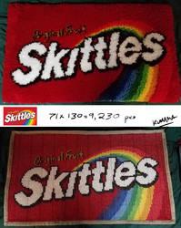 Latch Hook: Skittles Rug