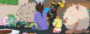 Pokemon: Girls' Night