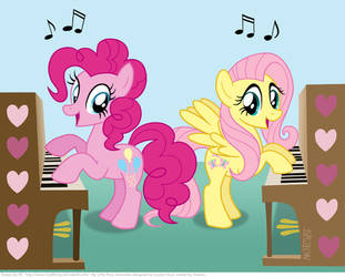 Piano duet by KTurtle