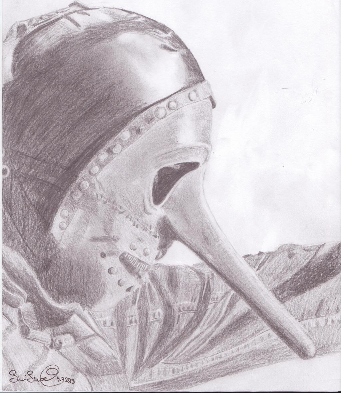 Craig Jones Mask Drawing