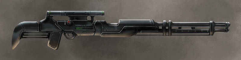 sniper gun concept by Flycan