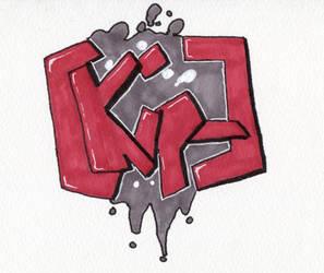 Name graffiti by KipTheArgonian