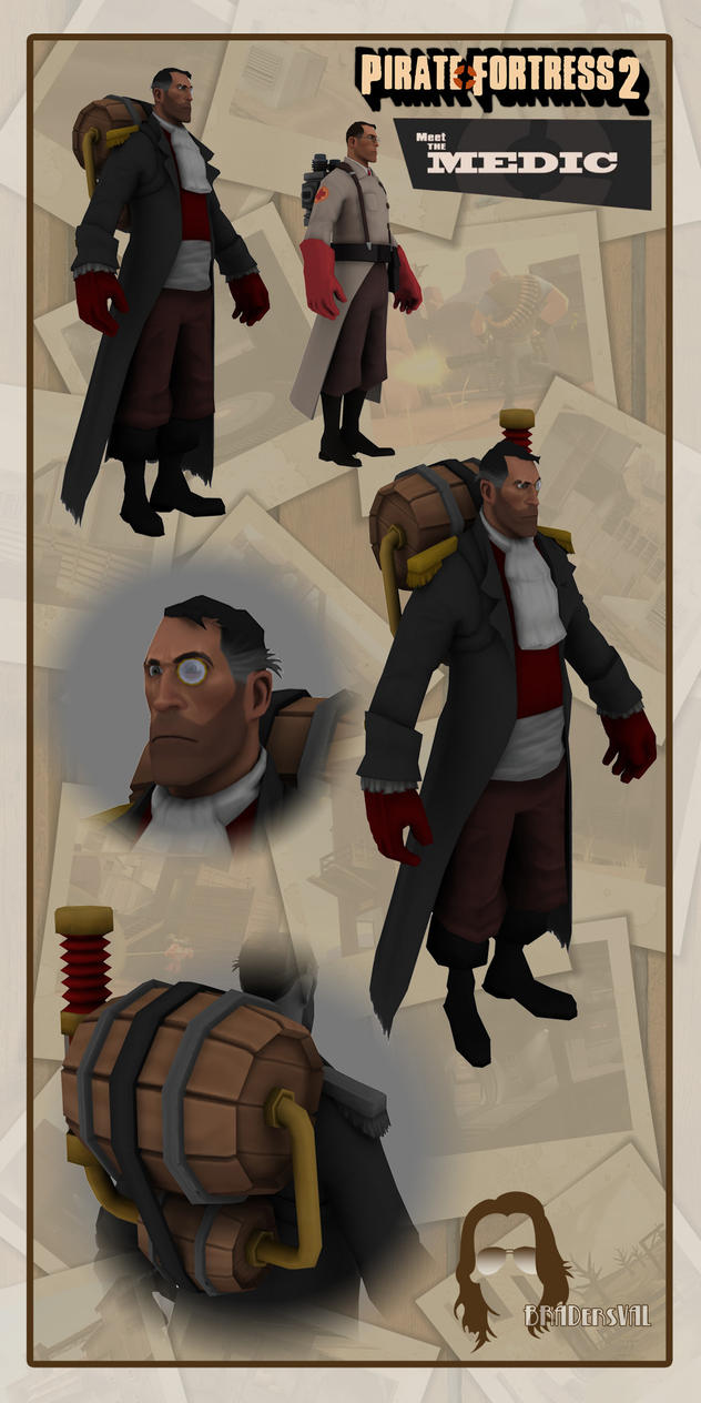 Pirate Fortress - Medic by BradersVal