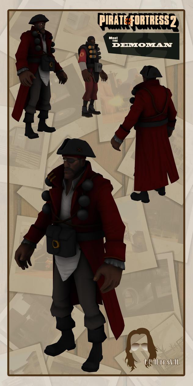 Pirate Fortress - Demoman by BradersVal