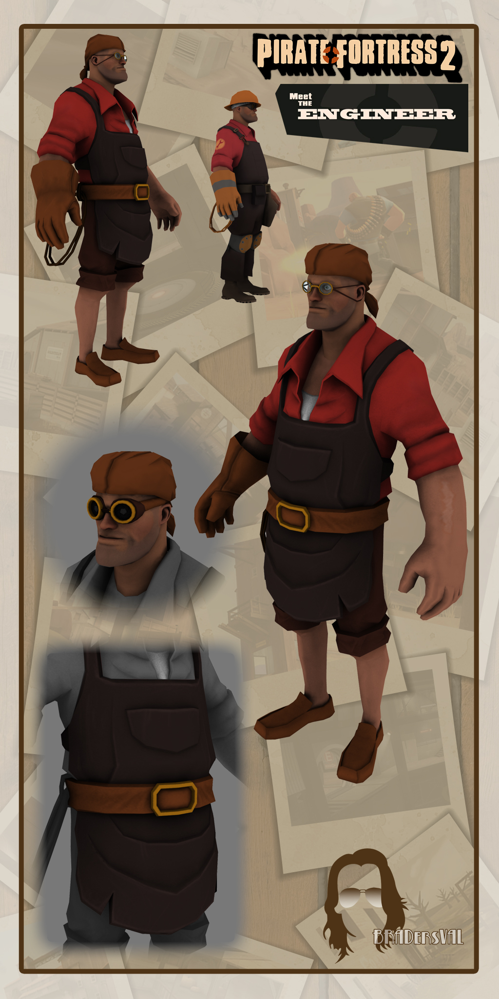 Pirate Fortress - Engineer by BradersVal