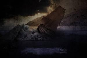 Wreck In The Polar Sea by thalija