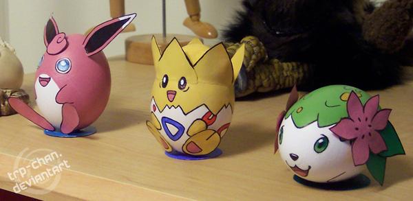 Pokemon Eggs by furinchime