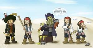 Chibi Pirates - spoilerish