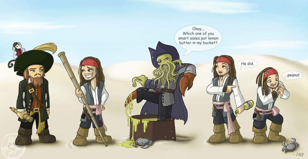 Chibi Pirates - spoilerish by furinchime