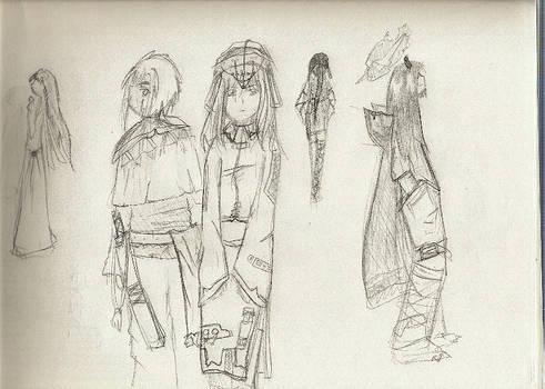 Daidouji Miako+Random people.