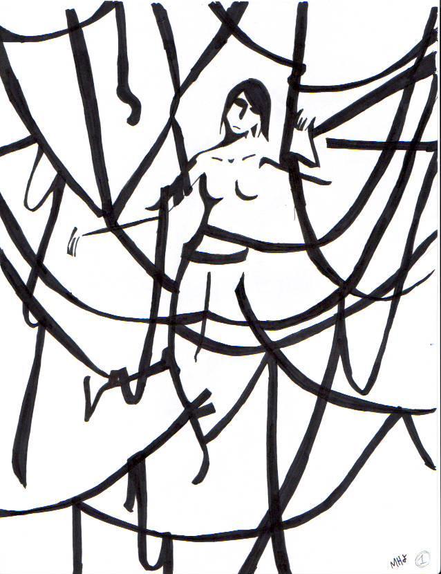 Ribboned Girl
