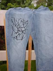 Ribboned Girl Pants