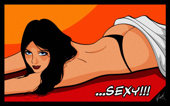 Sexy comic dub