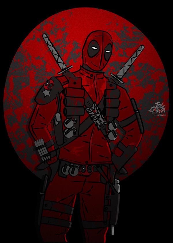 Deadpool  by djog