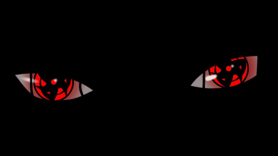 Sharingan Red Kakashi Itachi