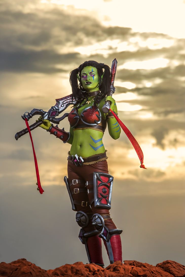 Garona Halforcen - World of Warcraft cosplay by Lynx-cosplay