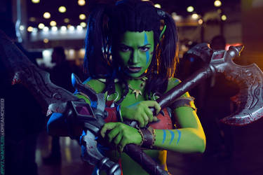 Garona Halforcen - WoW cosplay from Igromir 2015 by Lynx-cosplay