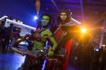 Garona and Medivh - World of Warcraft cosplay