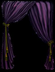 Feinervorhang-lila by Menelda