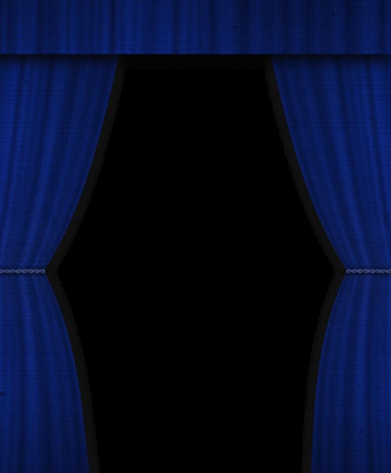 Leinenvorhang-blau by Menelda